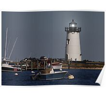 Edgartown Lighthouse Poster