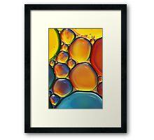 Tropical Oil & Water II Framed Print