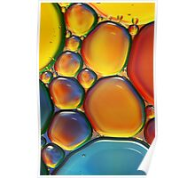 Tropical Oil & Water II Poster