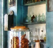Big Jar of Pretzels by Susan Savad