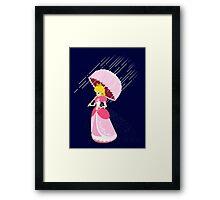 Princess Salt Framed Print