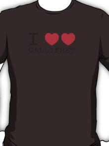 I Heart Heart Gallifrey T-Shirt