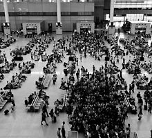 Passenger Swarm - China by Norman Repacholi