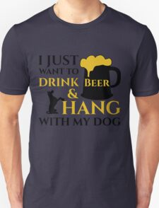 BEER AND MY DOG T-Shirt