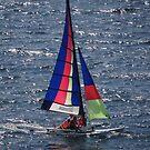 Little Sailing Boat - Pequeño Velero by PtoVallartaMex
