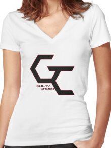 Guilty Crown Women's Fitted V-Neck T-Shirt