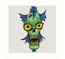 Monster Mondays #1 - Launched on halloween Art Print