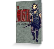 The Neanderthal- Male Greeting Card