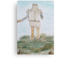 Bushranger- Ned Kelly. Canvas Print