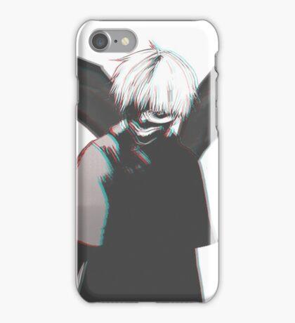 Kaneki Ken - Eye patch Ghoul  iPhone Case/Skin