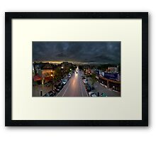 Southport Brown Line Platform. Framed Print