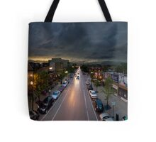 Southport Brown Line Platform. Tote Bag