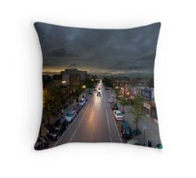 Southport Brown Line Platform. Throw Pillow