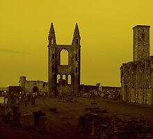 Cathedral in St. Andrews by Senstom
