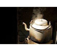 Steaming Photographic Print