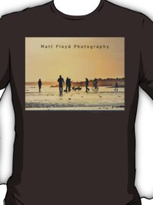 Low Tide Sunset - Hove #15  T-Shirt