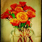 Roses and Textures by Glenn Cecero