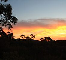 Mount Canobolas Sunset by Steven Cousley