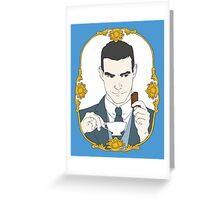 SHERLOCK - Tea Time for Sherlock - Jim Moriarty Greeting Card
