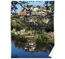 River As Painter - Rio Como Pintor Poster