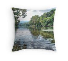 Shenandoah River Throw Pillow