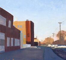 Quincy Street, Minneapolis by Leslie Belmonti