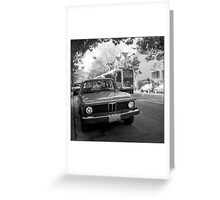 BMW / MUNI Greeting Card