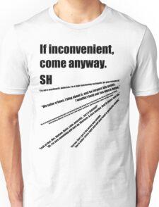 221b(2) Unisex T-Shirt
