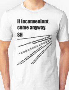 221b(2) T-Shirt