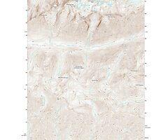USGS Topo Map Washington State WA Enchantment Lakes 20110603 TM by wetdryvac