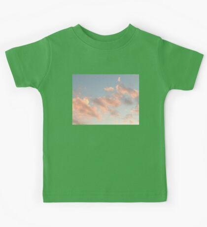 Sunset Clouds Kids Tee