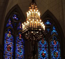 Chicago Stained Glass Windows by Leslie Belmonti