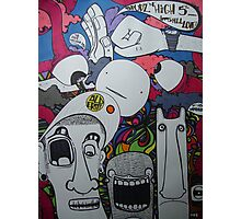 spuds and high 5'z Photographic Print