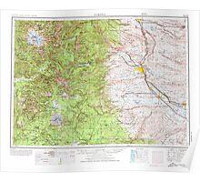 USGS Topo Map Washington State WA Yakima 244827 1958 250000 Poster