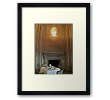 Table For Two? Framed Print