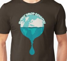 H2O *every drop counts Unisex T-Shirt