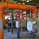 Pipes at GasWorks Park by Mike Cressy