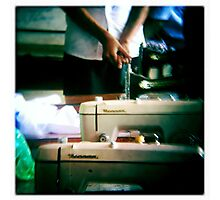 seamstress training at AFESIP Photographic Print