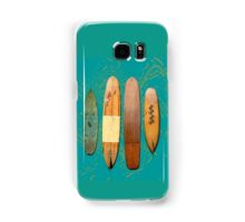Old Surf Boards for Old Hippies, vintage, retro. Samsung Galaxy Case/Skin