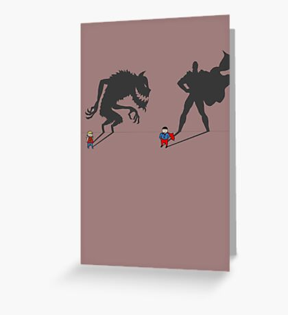 Saving the day! Greeting Card