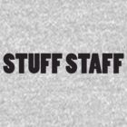 STUFF STAFF black font by Manuel Horvath