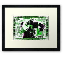 Cybergirl Framed Print