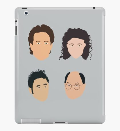 Jerry, Elaine, Kramer, George iPad Case/Skin