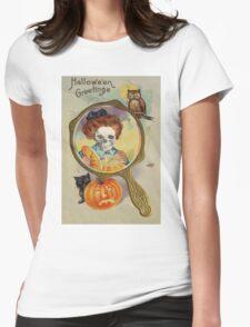 Lighting The Jack O' Lantern (Vintage Halloween Card) T-Shirt