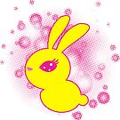 Yellow rabbit by -ashetana-