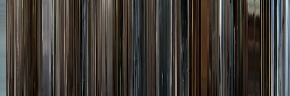 Moviebarcode: Le conseguenze dell'amore / The Consequences of Love (2004) by moviebarcode