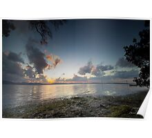 Wallis Lake by Sunset Poster