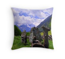Austria... Throw Pillow
