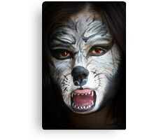 SP- Wolf Woman Canvas Print