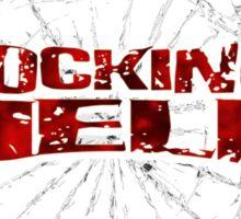 ROCKING HELL! Sticker
